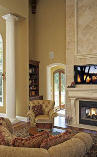 Carlson Custom Homes 2005 - Living Room 2
