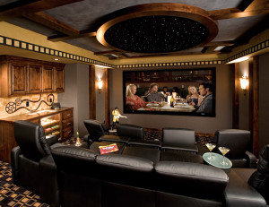 Example of Home Theater in Minneapolis