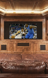 Restech-home-theater-TV-basketball
