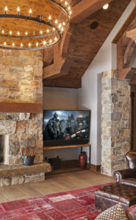 Restech-living-room-fireplace-TV-Batman